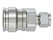 Гнездо БРС High Flow Cupla HFL-3S-BI 3/8 SUS304 EPT
